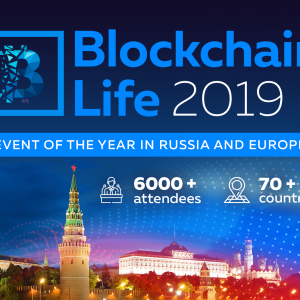 Blockchain Life 2019 is coming to Moscow on October 16th to 17th!