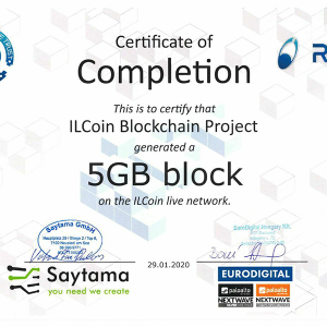 Palo Alto Networks Partner Successfully Certified ILCoin's 5GB Block On Live Network