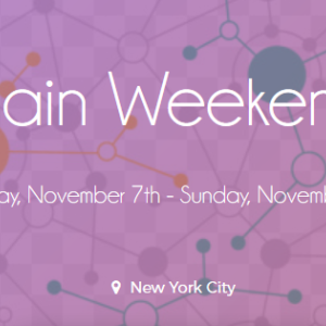 BlockchainWeekend NYC: City wide blockchain events taking NYC by storm