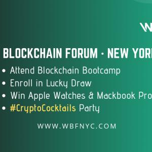 BitMart will join the World Blockchain Forum New York 2019