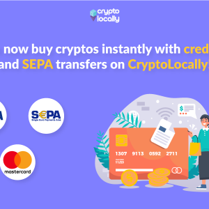 Peer-to-Peer Exchange CryptoLocally Now Offers Instant Credit Card Payment