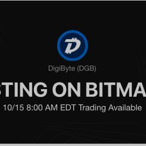 BitMart lists the UTXO-based blockchain – DigiByte [DGB]