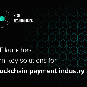 Niko Technologies launches turn-key solutions for the blockchain payment industry