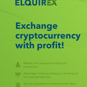 Elquirex aims to address the crypto challenges by delivering five-star services