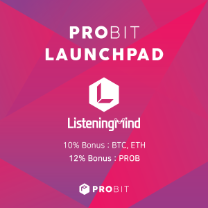 Highly Successful IEO Platform ProBit Exchange Unveils Launchpad Premium IEO-Listening Mind