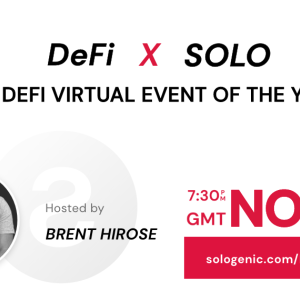 Sologenic to Host DeFi x SOLO – The DeFi Virtual Event of the Year