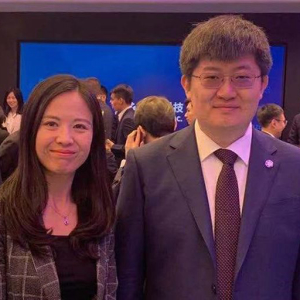 Canaan listed publicly in the US, Bitmart EVP Jessica Yang attended the NASDAQ bell ringing ceremony