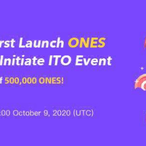 CoinEx Lists ONES First Worldwide and Launches Initial Trade Offering