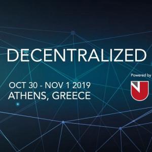 DECENTRALIZED 2019: Milestone Blockchain Conference in Athens