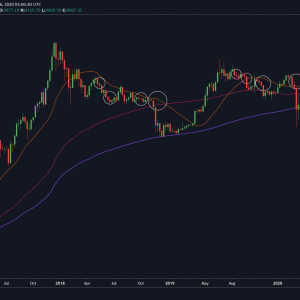 Esto es lo que significan las 3 velas semanales bajistas consecutivas de Bitcoin