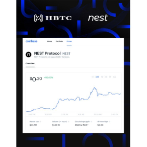 Building the Infrastructure for the Future Decentralized Financial Market, Coinbase Included HBTC.Com Debut DeFi Project – Nest Protocol