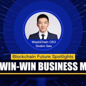 PR: WaykiChain CEO Gordon Gao Building a Win-Win Public Blockchain