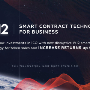 PR: W12 – a Platform Raising New Generation of Smart Contracts – Winner at the World Blockchain Forum (NYC)