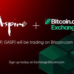 Bitcoin.com Exchange to List Aspire and Aspire Gas as Newest Digital Asset Creation Platform Comes to Market