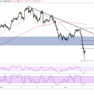 Bitcoin Price Analysis: BTC/USD Large Pullback to Area of Interest?
