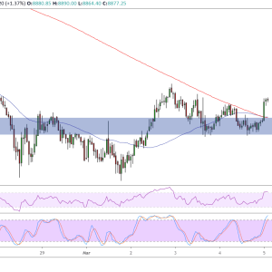 Bitcoin SV Price Analysis: BSV/USD Bullish Flag Break, Another Leg Higher?