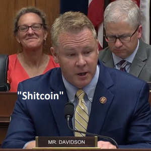 'Shitcoin' Searches Spike After Senator's Speech, Altcoins Recover