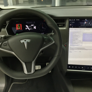 When a Tesla Car Becomes a Bitcoin Node…