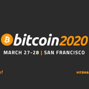 Welcome to Bitcoin 2020!