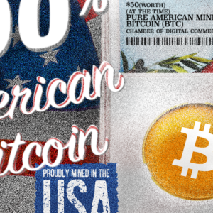"Crypto For Congress Puts ""American-Made"" Bitcoin Into The Hands Of Policymakers"