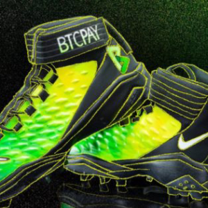 "For ""My Cleats, My Cause"" Design, Russell Okung Sports BTCPay Server"