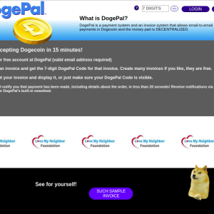 DogePal Improves its Web Interface and Adds API Support for DOGECOIN Payments