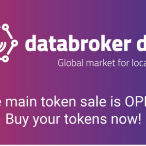 Blockchain Sensor Data Marketplace Data Broker DAO's Token Sale Is Now Live