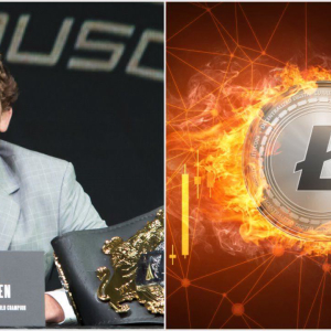 UFC Fighter Ben 'Funky' Askren Shills Litecoin as Price Pumps to $100