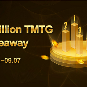 One Million TMTG Giveaway after IDCM Lists TMTG Token for Trading