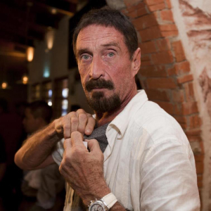 John McAfee Living in a Constant State of Paranoia Launches Podcast