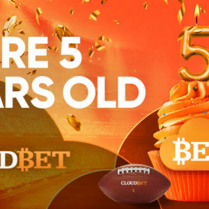 Cloudbet Celebrates 5 Years as Bitcoin Gambling Pioneer