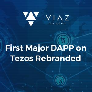 First Major DAPP on Tezos Rebranded: VIAZ.io (Re-Branded from Skynetworld.org)