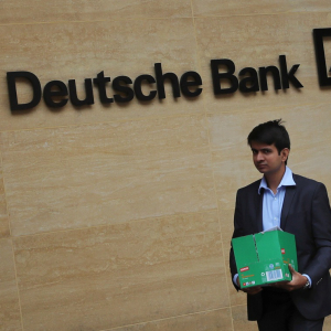 This Banker-Turned-Crypto Executive Called the Deutsche Bank Dumpster Fire