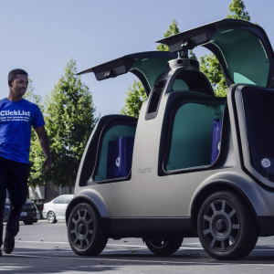 Why Uber's Largest Investor Just Plowed Almost $1 Billion into Autonomous Vehicle Startup Nuro