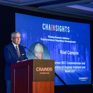 2019 CHAINSIGHTS | Former SEC Commissioner Roel Campos: the State of Blockchain and Cryptocurrency Regulation