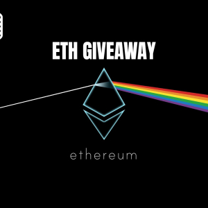 Ethereum Giveaway: Share & Win every week for next 8 weeks