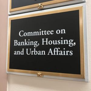 Senate Banking Committee to Hold Hearing on Crypto Regulation Next Week