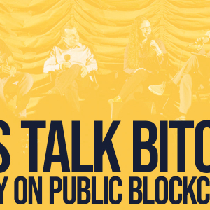 DISCUSSION: How Can Public Blockchains Have Privacy?