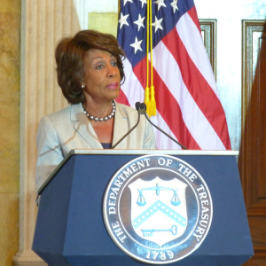 Rep. Waters Says Congress Will Continue Review of Facebook's Libra