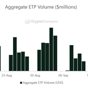 Bitcoin's Bearish September Has Kneecapped Crypto ETP Activity: Report