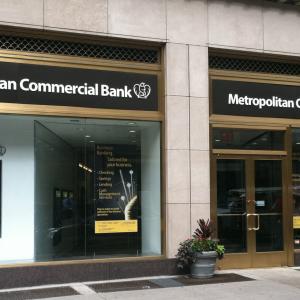 Metropolitan Commercial Bank's Digital Currency Business Shrinks