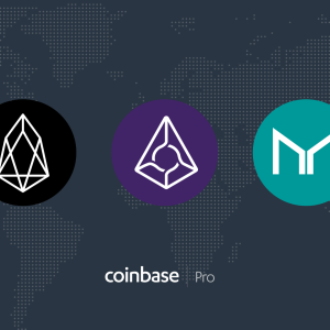 Coinbase Pro adds EOS (EOS), Augur (REP), and Maker (MKR) to its offering