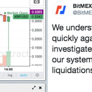 BitMEX Breaks Silence on XRP Price Crash, Explains that No XRP was Liquidated