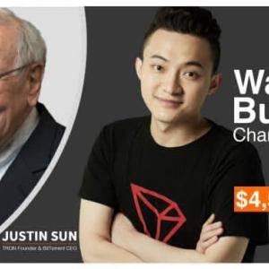 Tron [TRX] Price Plunges 5% as Justin Sun Postpones Lunch with Warren Buffet