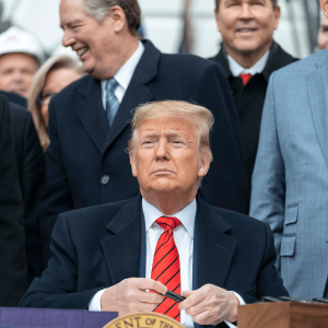Bitcoin [BTC] Firm and on a Solid Uptrend as President Trump is Acquitted
