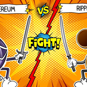 ETH XRP Clash: Ethereum and Ripple fight yet again
