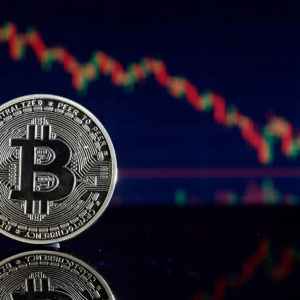 Bitcoin drops $900 as the volatility index hits six-year high.