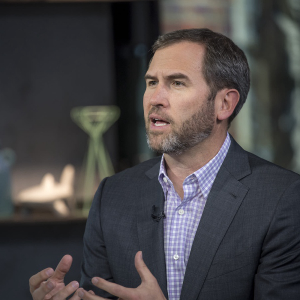 Ripple CEO says bitcoin is good as a store of value but not as a means for payment.