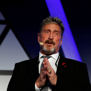 John McAfee updates his $1 Million BTC price prediction, backing it with the limited mining of bitcoin – Bitcoin Prediction News