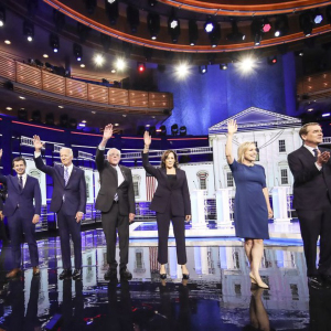 Predictions For The Second 2020 Democratic Debate from people on Augur